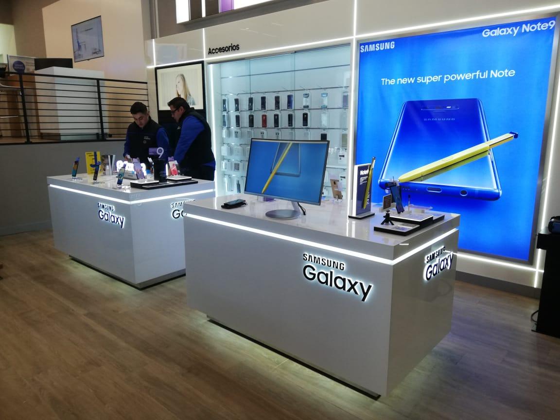 Nuevo centro de servicio Samsung en RUS Mall
