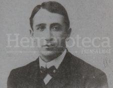 Jorge Ubico en 1908. (Foto: Hemeroteca PL)