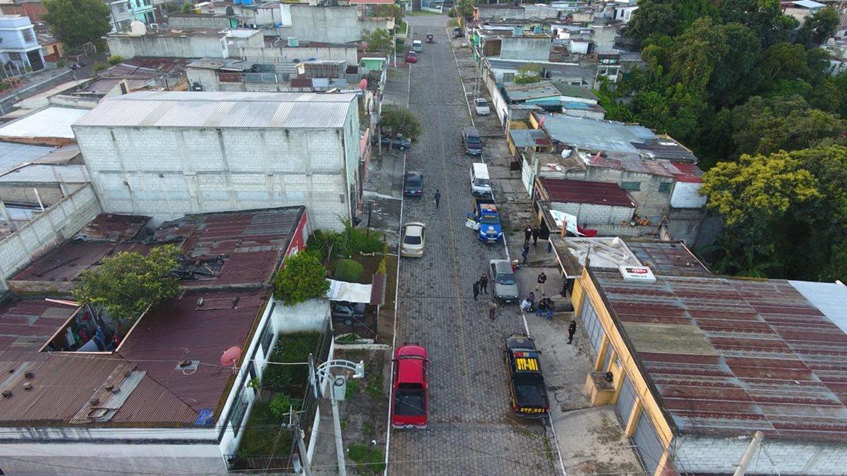 Los allanamientos efectuados por la PNC y el MP se registraron en Guatemala, Quetzaltenango, Sacatepéquez y Jutiapa. (Foto Prensa Libre: PNC)