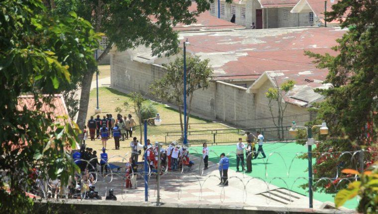 """El Hogar Seguro Virgen de la Asunción está ubicado en San José Pinula. Un incendió dejó 19 muertos y 23 heridos.(Foto Prensa Libre: Estuardo Paredes"""""""