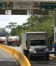 Según la entidad estatal, esta es la primera etapa de la unión aduanera y los demás trabajos estarán enfocados a la promoción de la libre circulación de mercancías y la facilitación del comercio. (Foto Prensa Libre: Carlos Hernández)