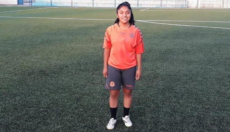 Madelyn Ventura ha puesto el nombre de Guatemala en la segunda división del futbol femenino de España. (Foto Prensa Libre: Hemeroteca PL)