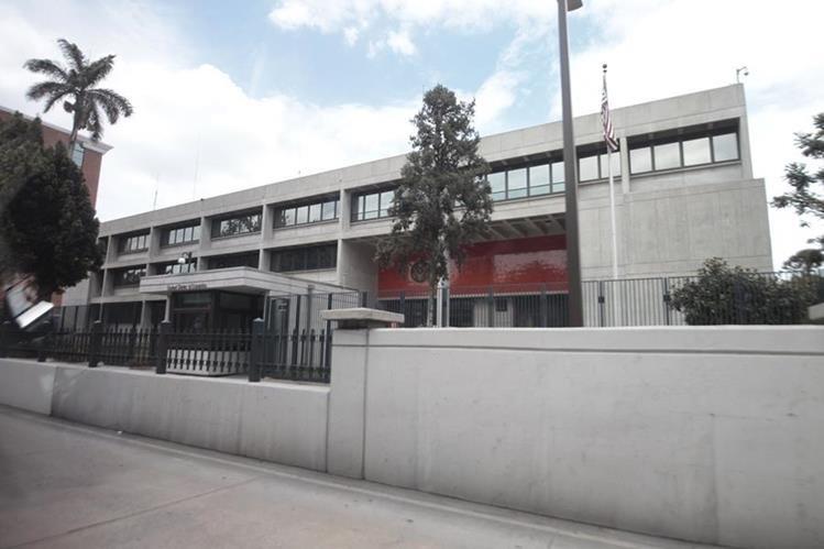 La Embajada de Estados Unidos en Guatemala puede atender a cualquier ciudadano estadounidense. (Foto Prensa Libre: Archivo)