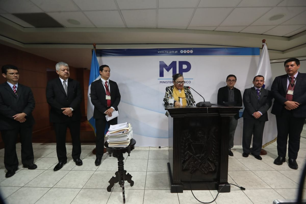 La jefa del MP Consuelo Porras anunciaba en octubre del 2018 la creación de una comisión revisora de las jefaturas de fiscalías, luego de señalar un proceso viciado en la designación de los responsables. (Foto Prensa Libre: Hemeroteca PL)