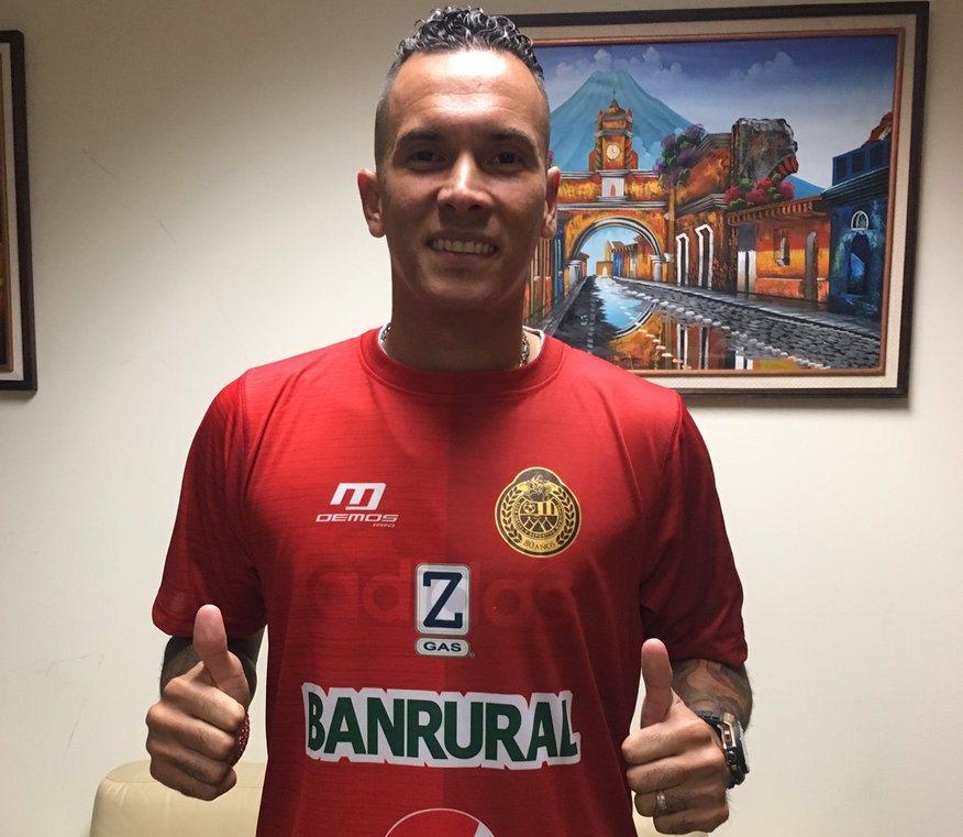 Blas Pérez ya está en Guatemala para unirse a Municipal