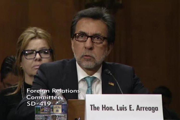 Luis Arreaga el nuevo embajador de Estados Unidos llegará el martes
