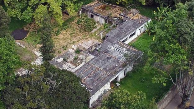 Rodríguez Gacha tenía en Bogotá una mansión con paredes que evitaban que saliera el sonido. CARLOS ORTEGA Y RODRIGO SEPÚLVEDA / EL TIEMPO