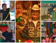 Vendedores de artesanías navideñas del Mercado Central cuentan sus historias. (Foto Prensa Libre: Ángel Elías)