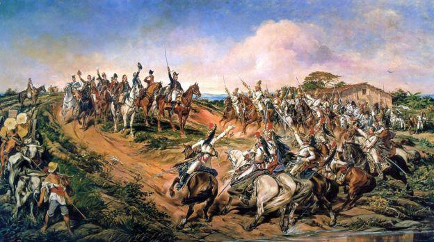 Pedro I declaró la Independencia de Brasil en las orillas del río Ipiranga. (Museu do Ipiringa)