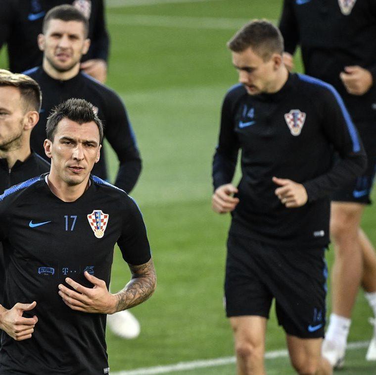 Los croatas jugarán la segunda seminifal de su historia. (Foto Prensa Libre: AFP)