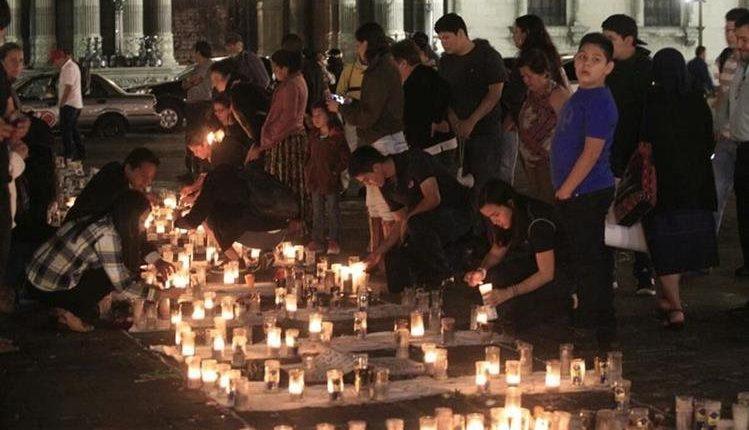La Tragedia del Hogar Seguro Virgen de la Asunción ocurrió en San José Pinula, el 8 de marzo de 2017. (Foto Prensa Libre: Hemeroteca PL)