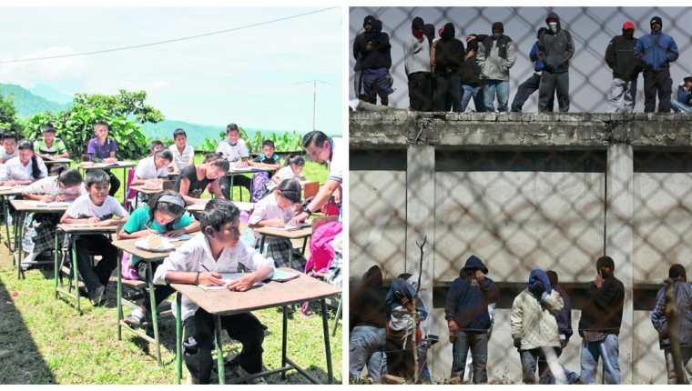 El gasto en educación pública en Guatemala debería mejorar para prevenir la deserción escolar, explican expertos. (Foto Prensa Libre: Hemeroteca PL)