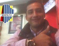 Ángelo Padilla está feliz por estar a un paso de ser legionario otra vez. (Foto Prensa Libre: Cortesía Ángelo Padilla)