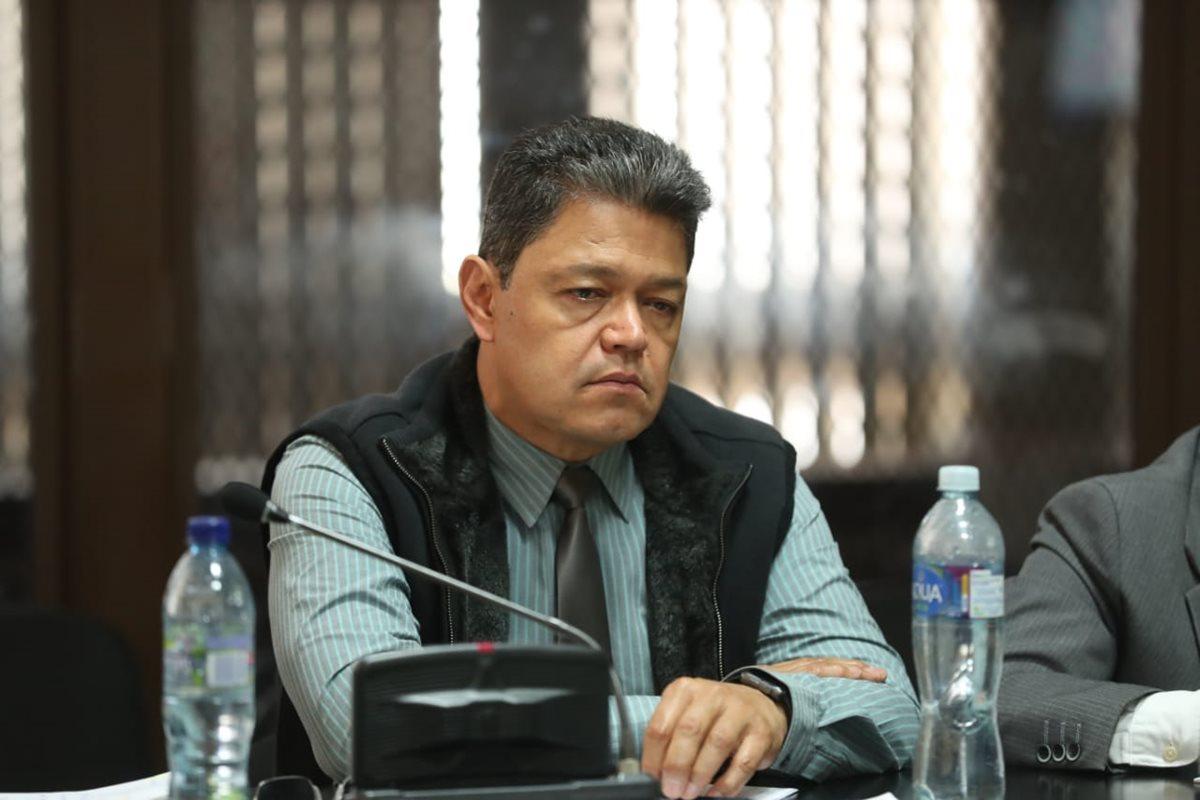 El empresario Raúl Osoy Penados se defendió de la acusación del MP y la Cicig. (Foto Prensa Libre: Esbin García)