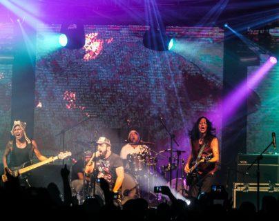 Viernes Verde es una de las bandas de rock más queridas en el país. (Foto Prensa Libre: Keneth Cruz)