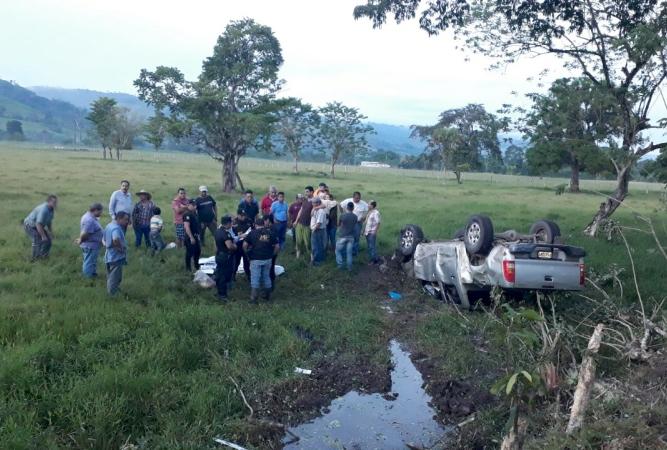 Alcalde de Estanzuela muere en accidente de tránsito