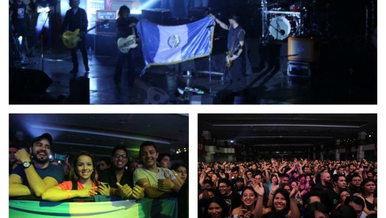 Centenares de seguidores disfrutan la música nacional y apoyan a las bandas que participan en Festival Independencia 2016. (Foto Prensa Libre: Keneth Cruz)