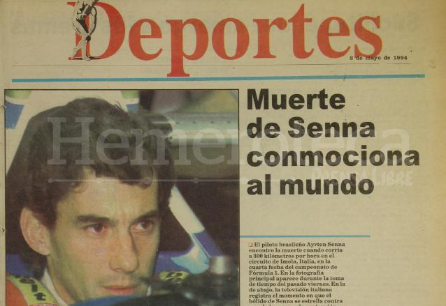 <em>Adeus Campe</em><em>ã</em><em>o</em>: 24 años sin Ayrton Senna