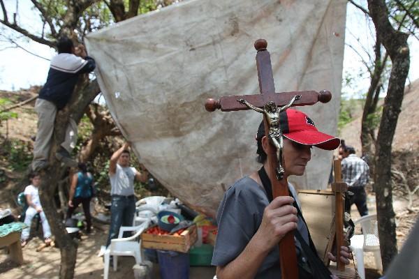 pobladores insisten en protesta contra  proyecto  Progreso VII Deriva, conocido como El Tambor.