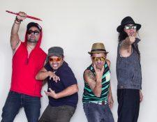 Viernes Verde ensaya para ofrecer un espectáculo y cumplir las exigencias del público local. (Foto Prensa Libre: Viernes Verde)