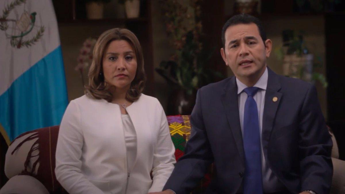 Patricia Marroquín, esposa del presidente Jimmy Morales, está siendo investigada por el Ministerio Público. (Foto Prensa Libre: Hemeroteca PL)