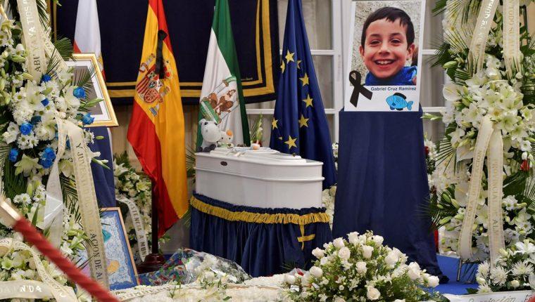 La crueldad con que fue asesinado Gabriel Cruz indigna a España. (Foto Prensa Libre: EFE)