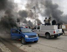 Fuerzas iraquíes intensifican últimos combates contra el Estado Islámico en Mosul. (Foto Prensa Libre: AP)