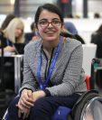 Nujeen Mustafa, refugiada en Alemania, aspira a ser astronauta. (Foto Prensa Libre: AFP)