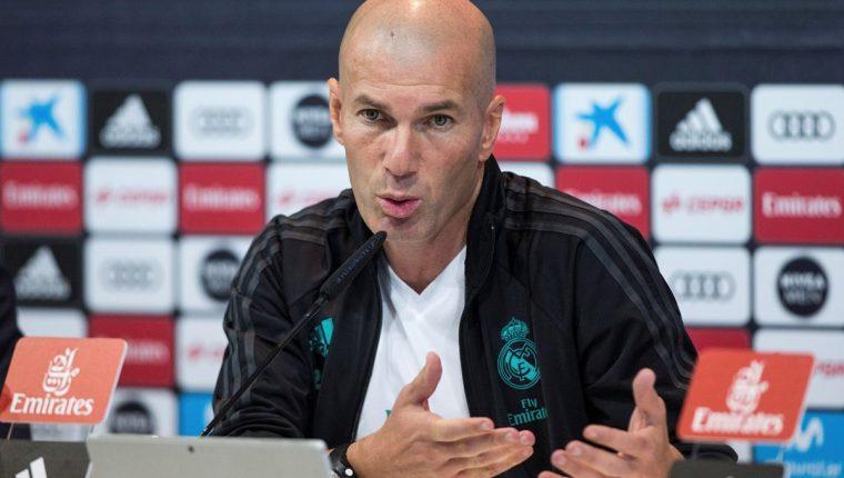 Zinedine Zidane afirma que contra el Leganés habrá mucha electricidad desde el principio. (Foto Prensa Libre: EFE)