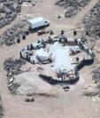 Una operación policial llevó al descubrimiento del remolque semienterrado en el cual estaban cautivos los niños. (EPA)
