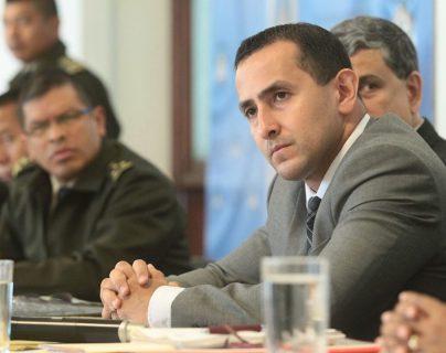 Luis Chang el nuevo ministro de energía y minas, nombrado por el Presidente Jimmy Morales, acudió este martes a una citación en el Congreso. (Foto, Prensa Libre: Álvaro Interiano).