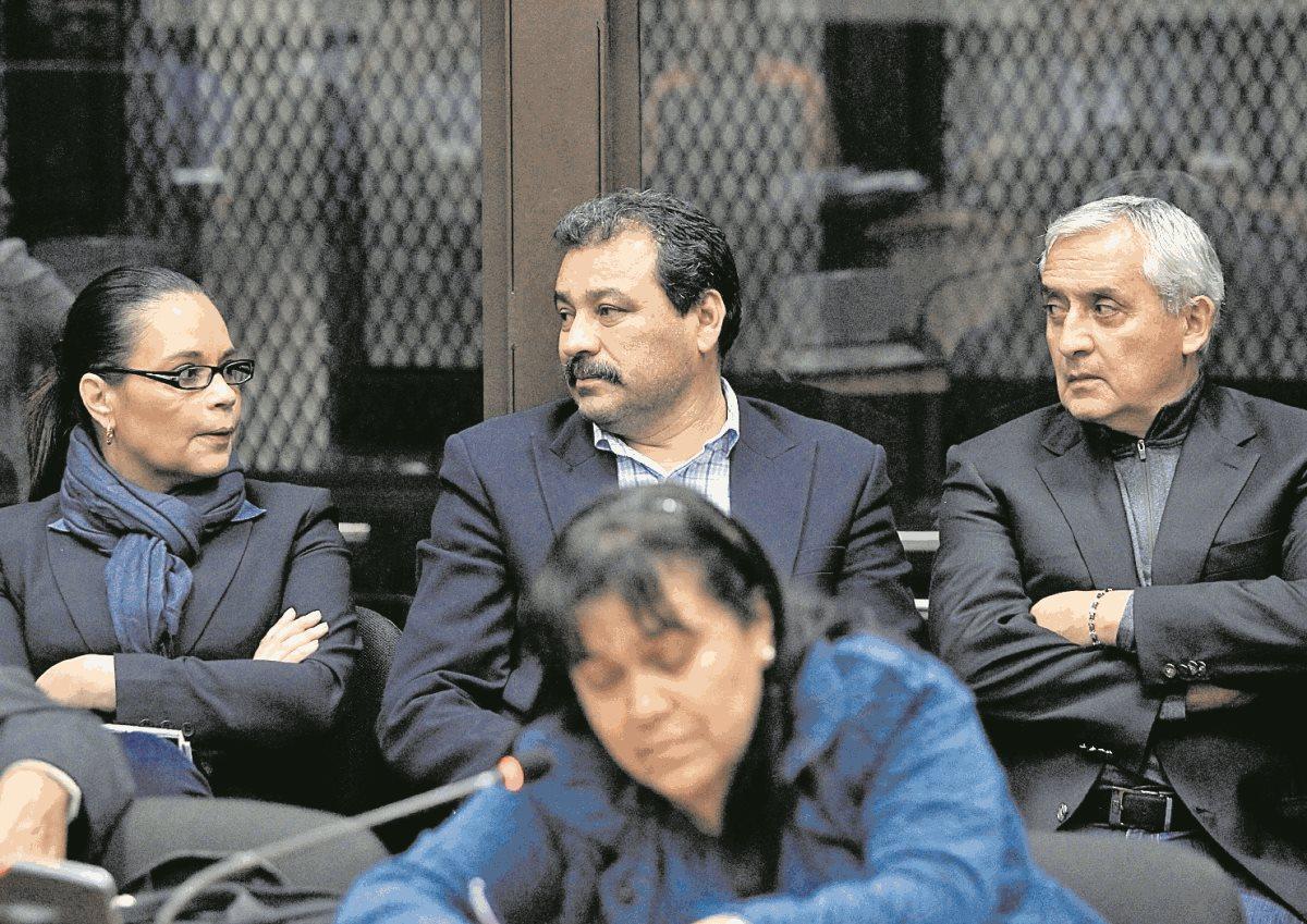 Otto Pérez está cerca de cumplir tres años en prisión preventiva por cargos de corrupción. (Foto Prensa Libre: Hemeroteca PL)