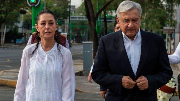 La nueva jefa del Gobierno de Ciudad de México ha sido una colaboradora cercana de López Obrador. GETTY IMAGES