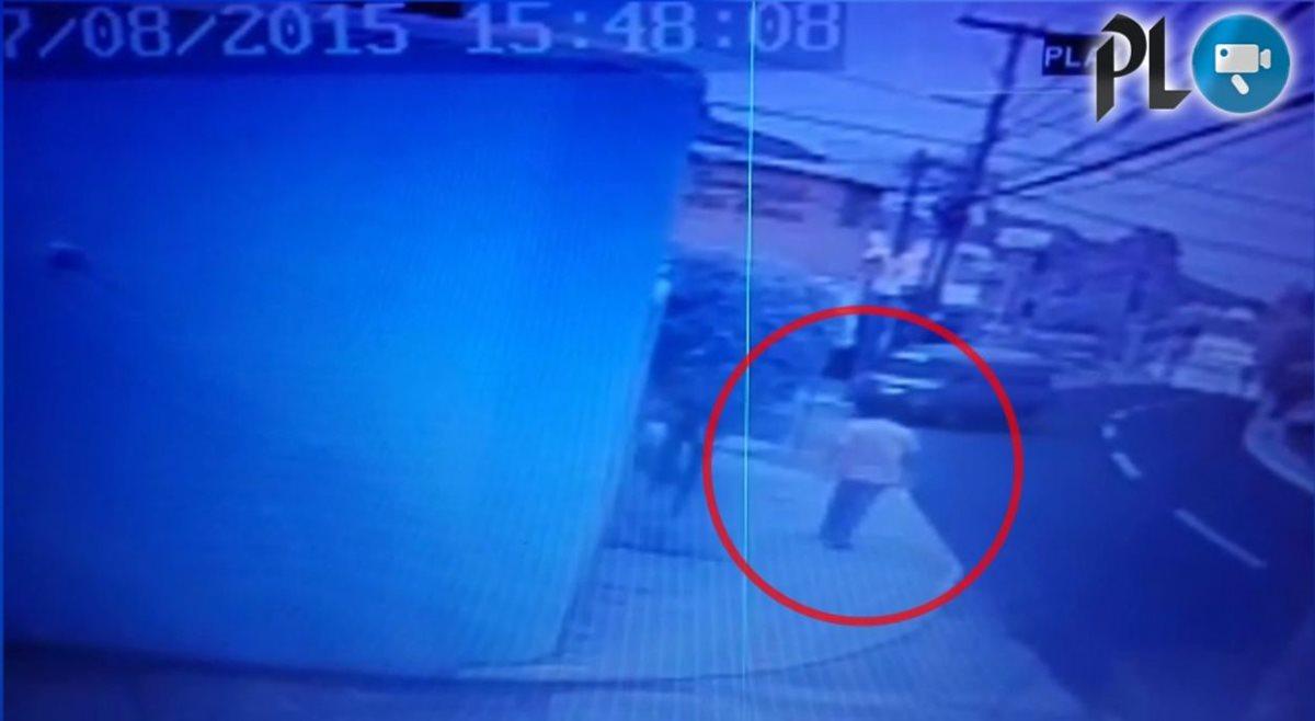 Cámaras graban ataque armado en Mixco