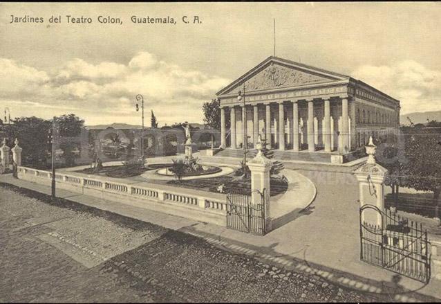 El Teatro Colón en todo su esplendor, foto antes de 1917. (Foto: Hemeroteca PL)