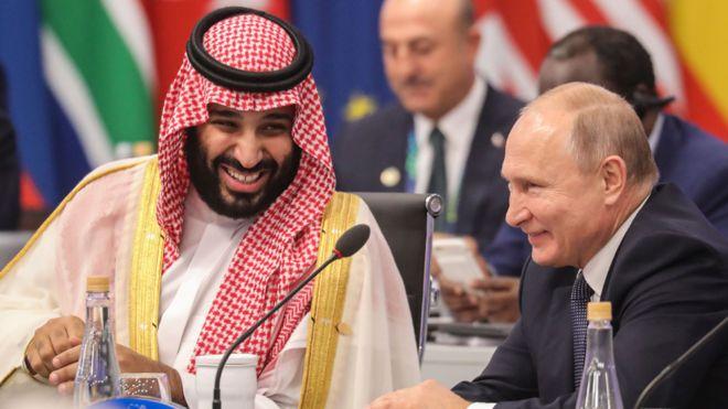 Vladimir Putin y Mohammed bin Salman se robaron el show en la primera jornada del G20. Y eso, para muchos, es motivo de preocupación. AFP