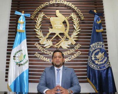 Juvell Stuardo de León De Paz fue nombrado director del SP en agosto del año pasado. (Foto Prensa Libre: Hemeroteca PL)