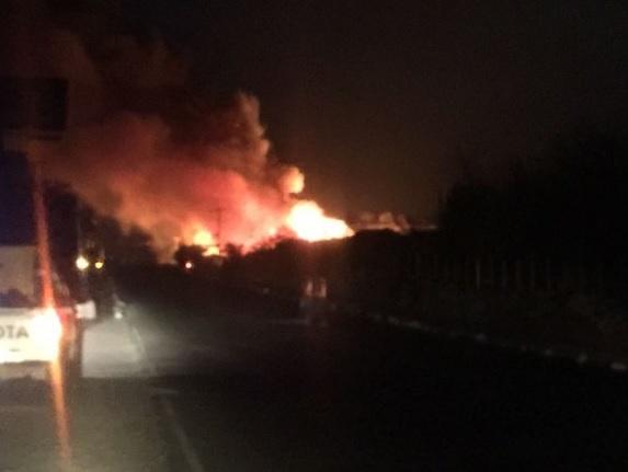 Se incendia restaurante que sería inaugurado