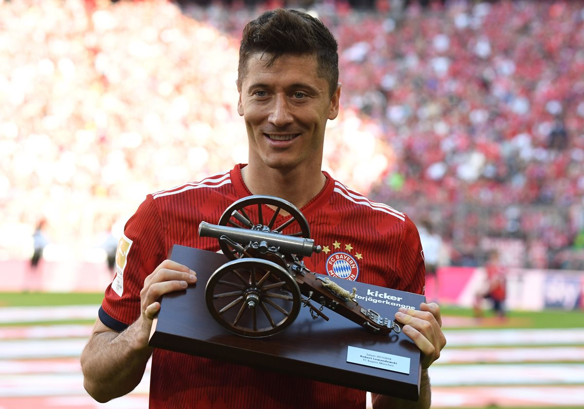 Lewandowski termina como máximo goleador de la Bundesliga