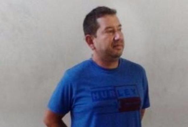 Ronald Espada fue aprehendido por las autoridades de El Salvador. (Foto Prensa Libre: ElSalvador.com)