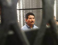 El exalcalde de Jutiapa, Basilio Cordero Cardona, se quedó sin abogado defensor (Foto Prensa Libre: Javier Lainfiesta)