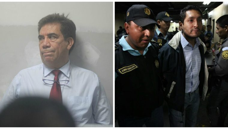Capturan a los abogados Jose Arturo Morales y Jorge Luis Escobar Gómez, vinculados al caso La Línea. (Foto Prensa Libre: E. Paredes)