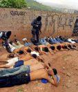 Un comando elite de la Policía captura a varios pandilleros en El Salvador.(EFE).