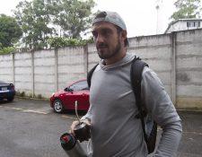 El defensor uruguayo Darío Flores asegura que Municipal está listo para dar pelea en la final del Apertura 2016 contra Antigua GFC (Foto Prensa Libre: Norvin Mendoza)
