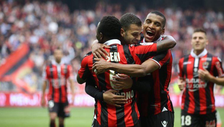 Después de más de medio siglo el Niza volverá a jugar la Liga de Campeones de Europa. (Foto Prensa Libre: AFP)