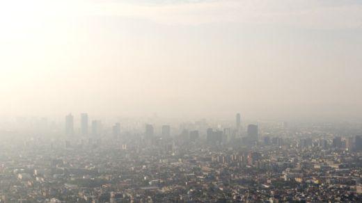 La Ciudad de México es una de las ciudades más contaminadas de América Latina, según la OMS. GETTY IMAGES