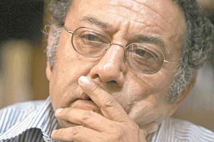 Fallece el antropólogo Carlos René García Escobar