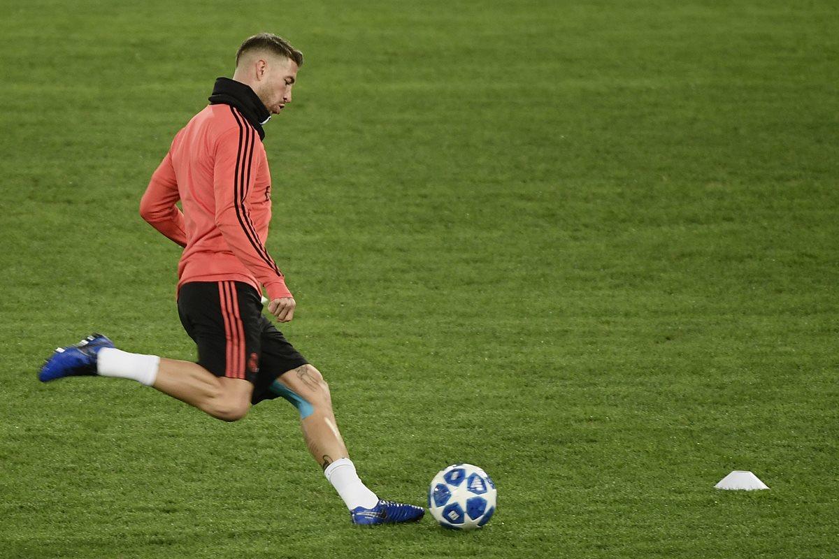 Sergio Ramos fue señalado en unos documentos de Football Leaks por irregularidades en dos controles antidopaje. (Foto Prensa Libre: AFP)