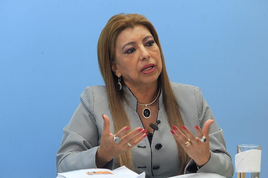 La exregistradora Anabella De León es investigada por la Fiscalía Especial contra la Impunidad (Feci) del Ministerio Público (MP). (Foto Prensa Libre: Hemeroteca PL)