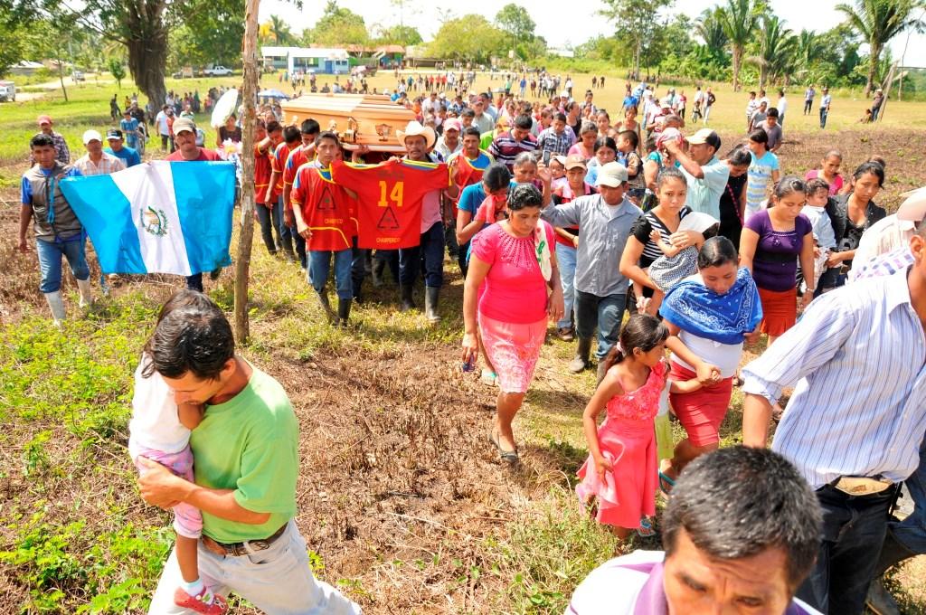 Sepultan a ambientalista y concejal electo de Sayaxché
